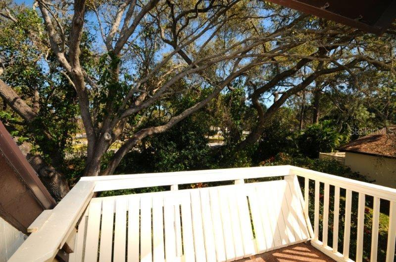 2nd floor balcony - Condo for sale at 2215 Circlewood Dr #46, Sarasota, FL 34231 - MLS Number is A4180138
