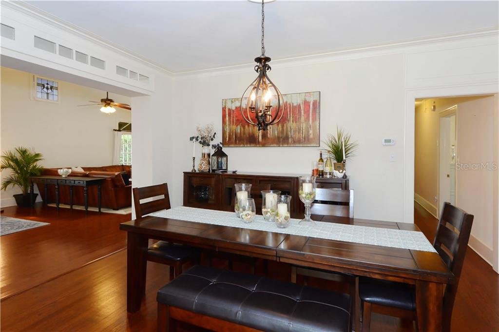 Dining Room - Single Family Home for sale at 1896 Hibiscus St, Sarasota, FL 34239 - MLS Number is A4180775