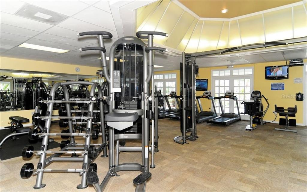 Plantation Golf & Country Club - Fitness Center - Single Family Home for sale at 605 Khyber Ln, Venice, FL 34293 - MLS Number is A4182492