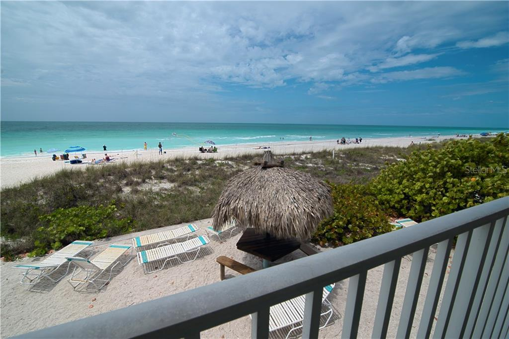 View from Deck toward north - Condo for sale at 100 73rd St #202a, Holmes Beach, FL 34217 - MLS Number is A4184505