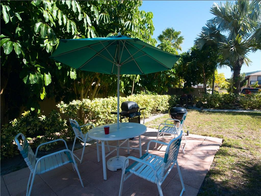 Nice shaded spot to relax - Condo for sale at 100 73rd St #204a, Holmes Beach, FL 34217 - MLS Number is A4185340