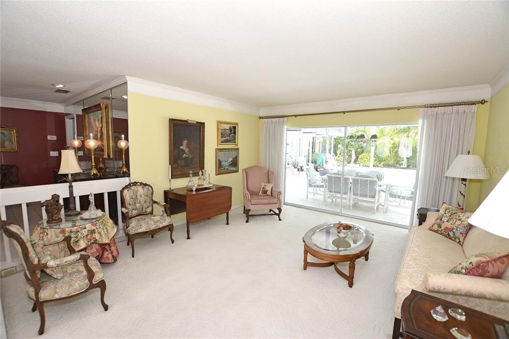 Formal Living Room - Single Family Home for sale at 1157 Wyeth Dr, Nokomis, FL 34275 - MLS Number is A4185839