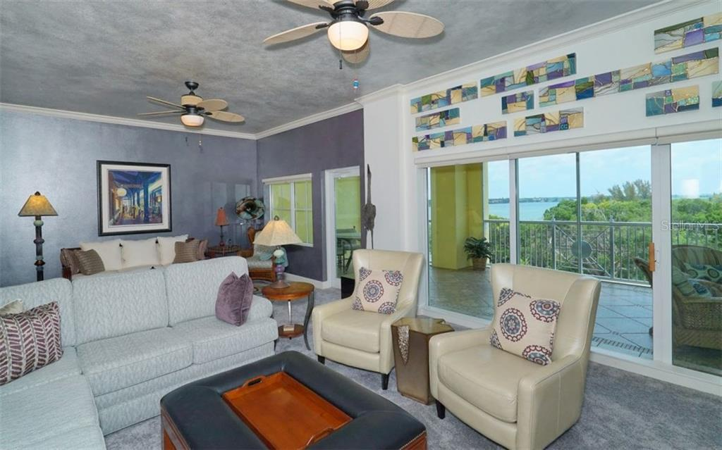 Great room with Intracoastal views - Condo for sale at 1310 Old Stickney Point Rd #e53, Sarasota, FL 34242 - MLS Number is A4186018