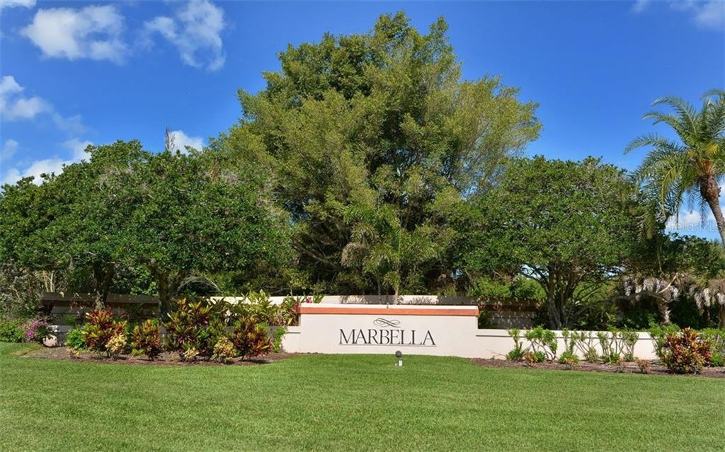 Gated community of Marbella. - Single Family Home for sale at 4121 Via Mirada, Sarasota, FL 34238 - MLS Number is A4186485