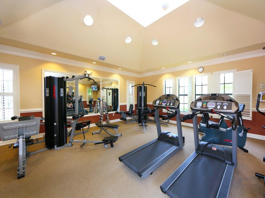 Fitness center, steps from home. - Single Family Home for sale at 1307 Copperwood Dr, Osprey, FL 34229 - MLS Number is A4186695
