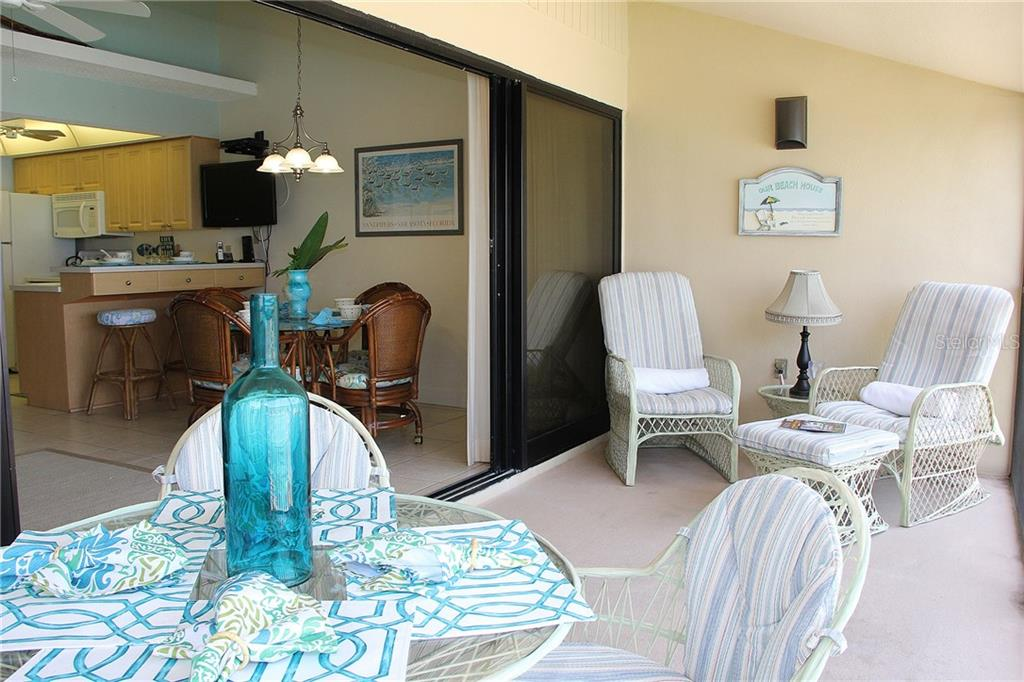 Lanai (screened) - Condo for sale at 4621 Gulf Of Mexico Dr #11c, Longboat Key, FL 34228 - MLS Number is A4187979