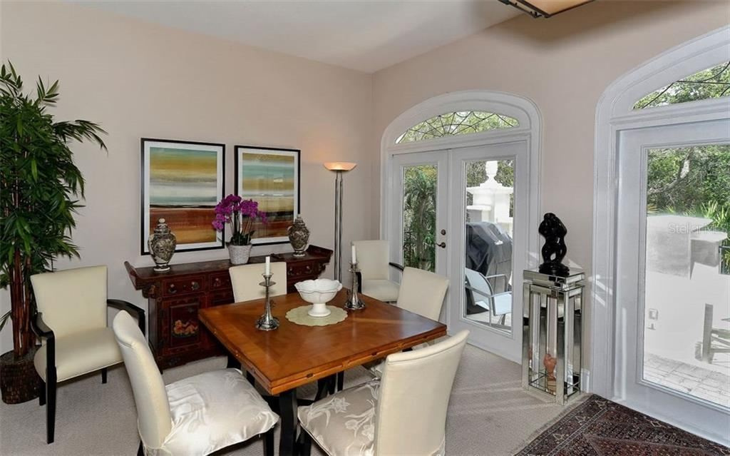 Elegant Dining Area - Townhouse for sale at 68 Bishops Court Rd #115, Osprey, FL 34229 - MLS Number is A4187983