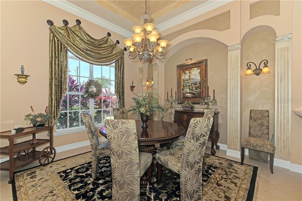 Formal Dining Area - Single Family Home for sale at 370 Highland Shores Dr, Ellenton, FL 34222 - MLS Number is A4188456