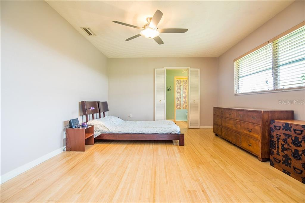Master bedroom - Single Family Home for sale at 3448 Pine Valley Dr, Sarasota, FL 34239 - MLS Number is A4188545