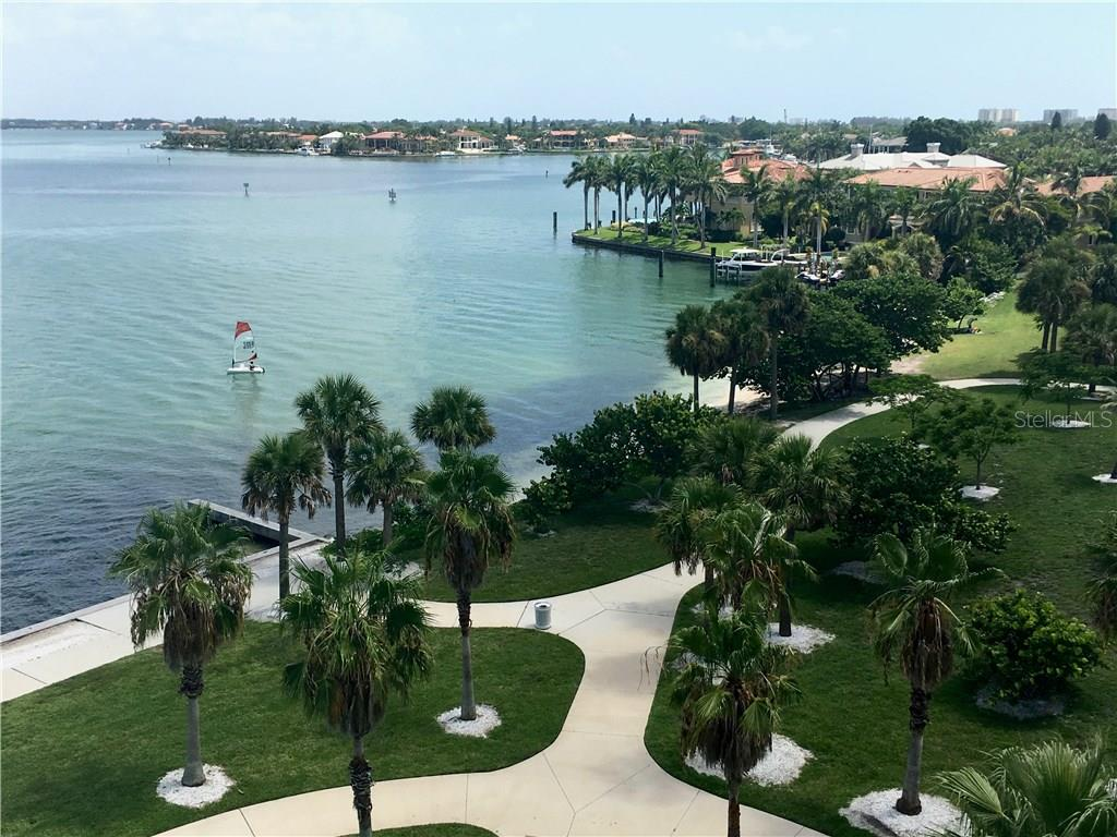 Short stroll to Marina Jack's and the lovely bay front park. - Condo for sale at 1111 Ritz Carlton Dr #1505, Sarasota, FL 34236 - MLS Number is A4188921