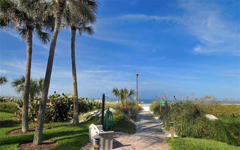 Walkway to the beach Midnight Cove - Condo for sale at 6342 Midnight Pass Rd #232, Sarasota, FL 34242 - MLS Number is A4189282