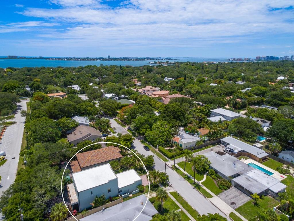 Sarasota's hottest location: West of the Trail, just minutes to Southside Village, Sarasota Memorial, downtown, and within a block from A rated, Southside Elementary. True urban living with very low maintenance manicured grounds for the busy family or the empty nester.  E - Single Family Home for sale at 1884 Grove St, Sarasota, FL 34239 - MLS Number is A4189365