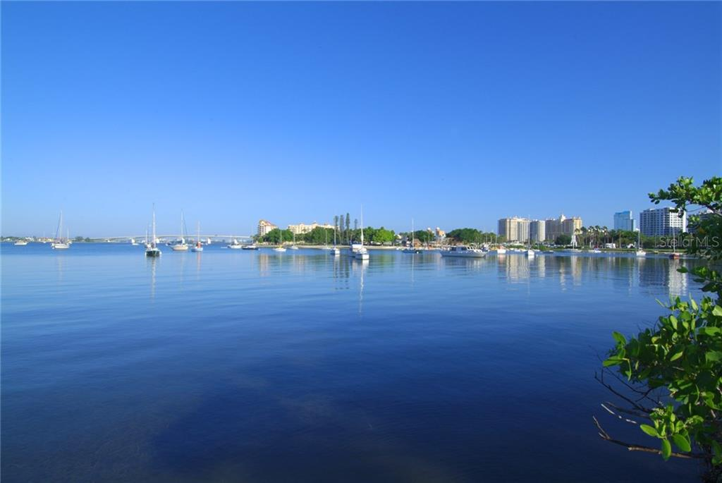 Boats moored in the harbor at Island Park - Vacant Land for sale at 4153 Higel Ave, Sarasota, FL 34242 - MLS Number is A4189816