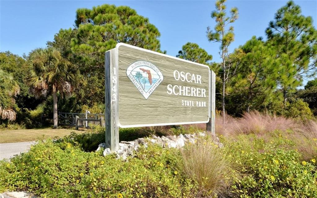 Oscar Scherer State Park for canoeing, hiking, birdwatching - Condo for sale at 104 Woodland Pl #104, Osprey, FL 34229 - MLS Number is A4190676