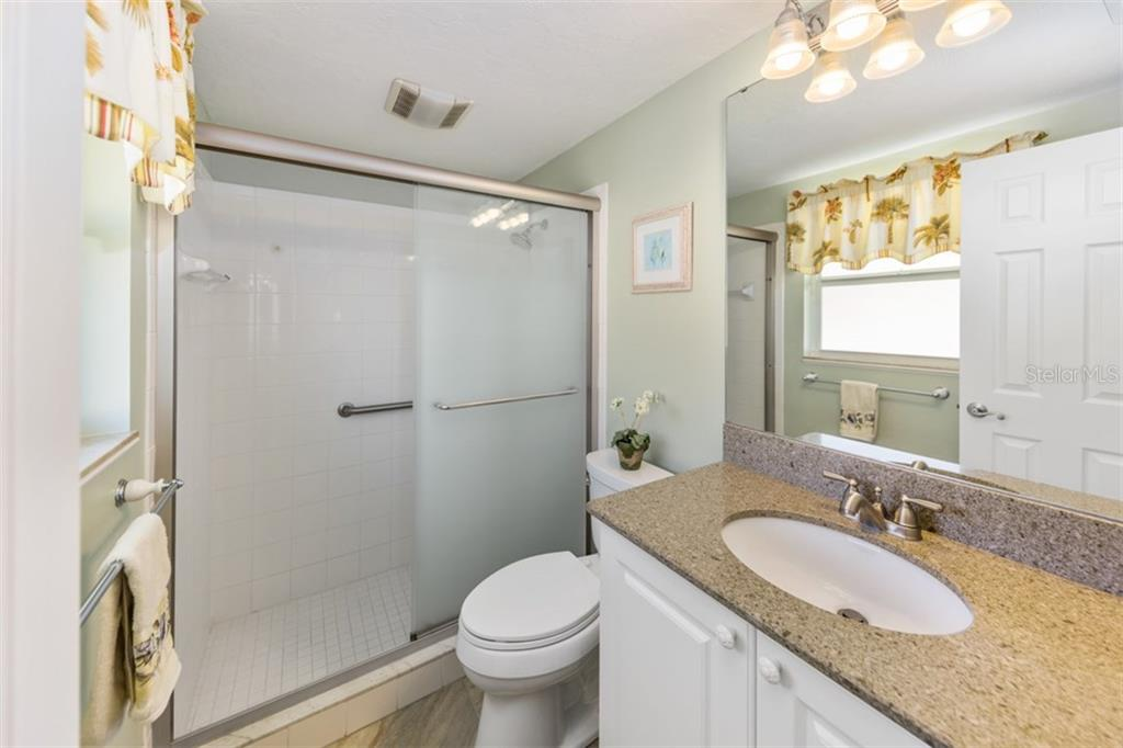 Master bathroom - Condo for sale at 6140 Midnight Pass Rd #c-9, Sarasota, FL 34242 - MLS Number is A4195879