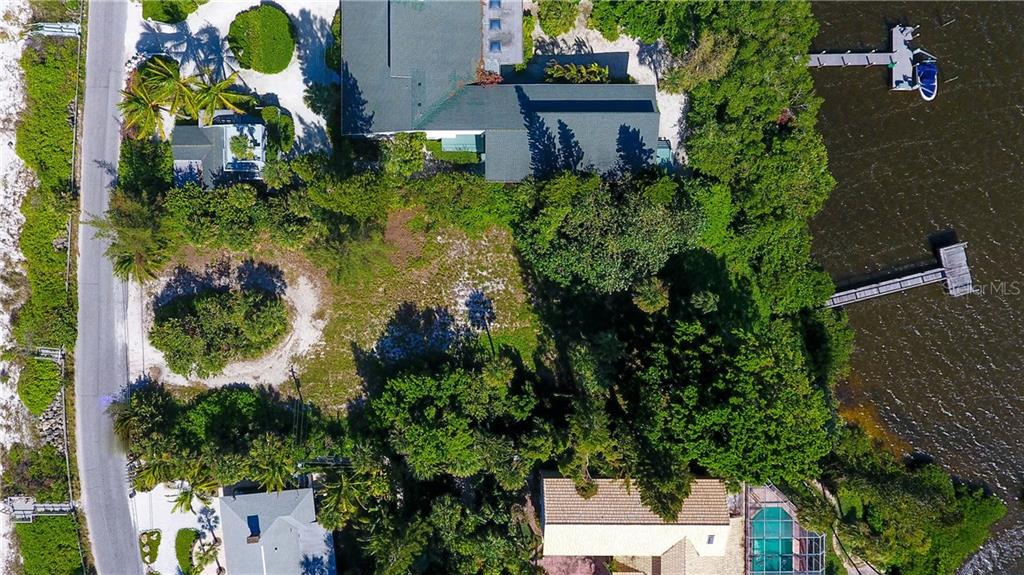 Easy lot to clear with not many trees - Vacant Land for sale at 3220 Casey Key Rd, Nokomis, FL 34275 - MLS Number is A4197366