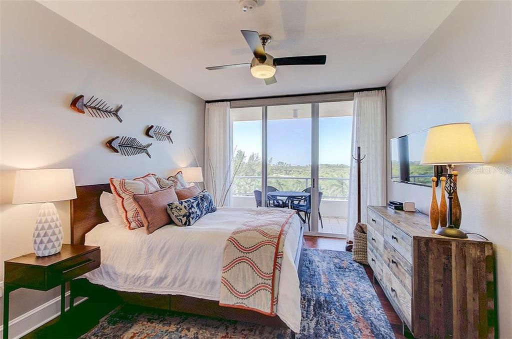 Bedroom 2 - Condo for sale at 3060 Grand Bay Blvd #142, Longboat Key, FL 34228 - MLS Number is A4199568