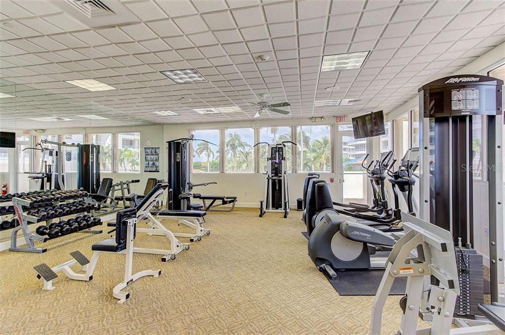 Grand Bay Fitness Room - Condo for sale at 3060 Grand Bay Blvd #142, Longboat Key, FL 34228 - MLS Number is A4199568
