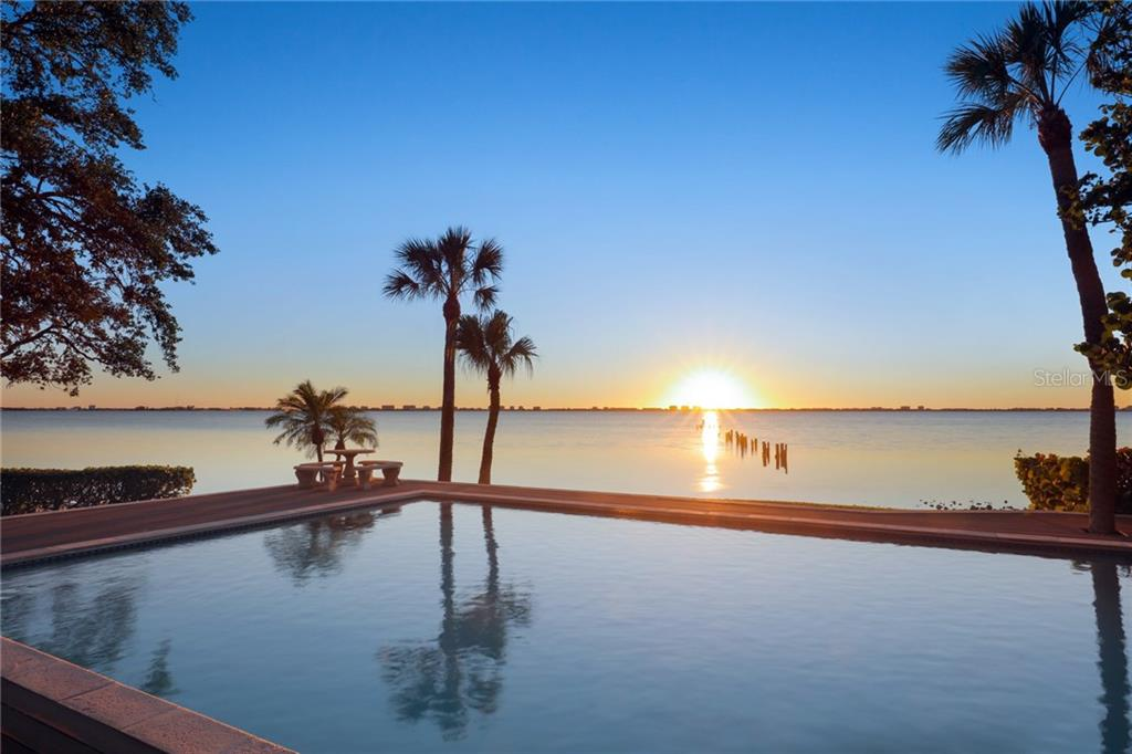 Amazing sunsets! - Single Family Home for sale at 3221 Bay Shore Rd, Sarasota, FL 34234 - MLS Number is A4200323