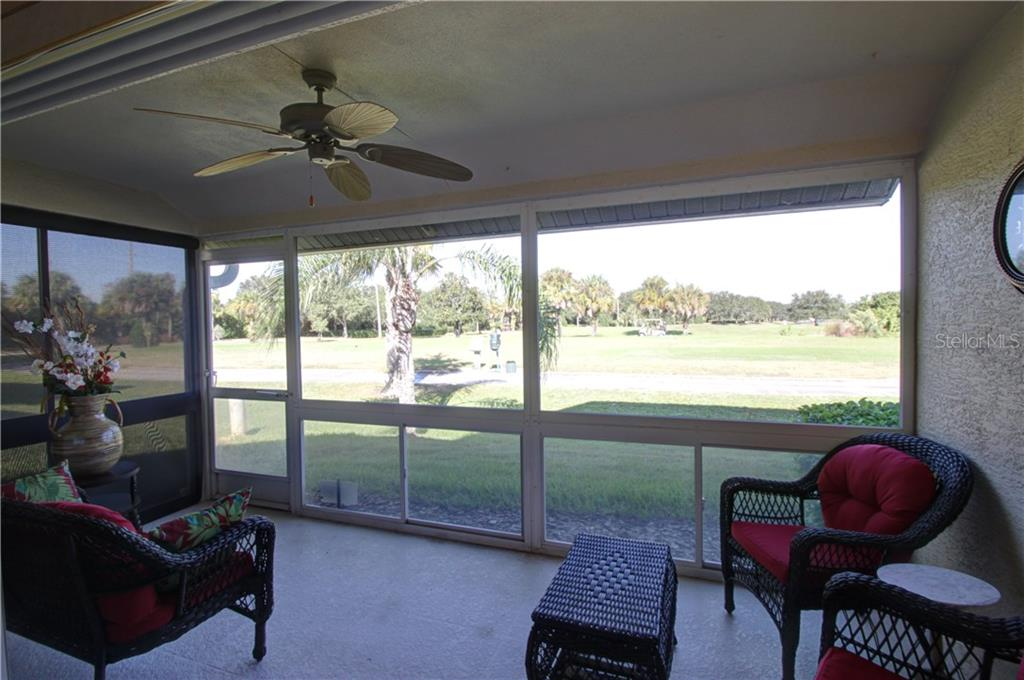 Relaxing Lanai - Condo for sale at 7212 Cedar Hollow Cir #101, Bradenton, FL 34203 - MLS Number is A4200795