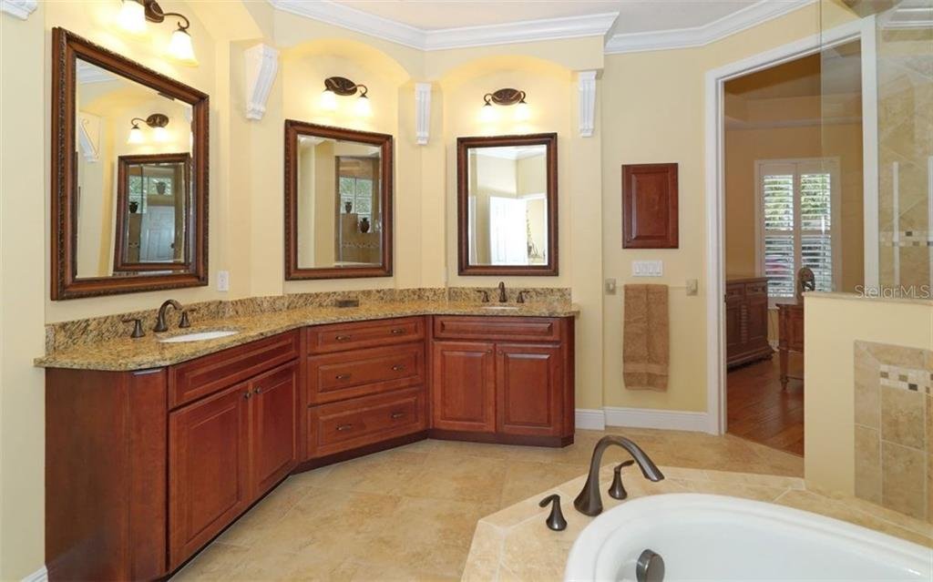 Luxurious Master Bath - Single Family Home for sale at 1746 Hillview St, Sarasota, FL 34239 - MLS Number is A4202985