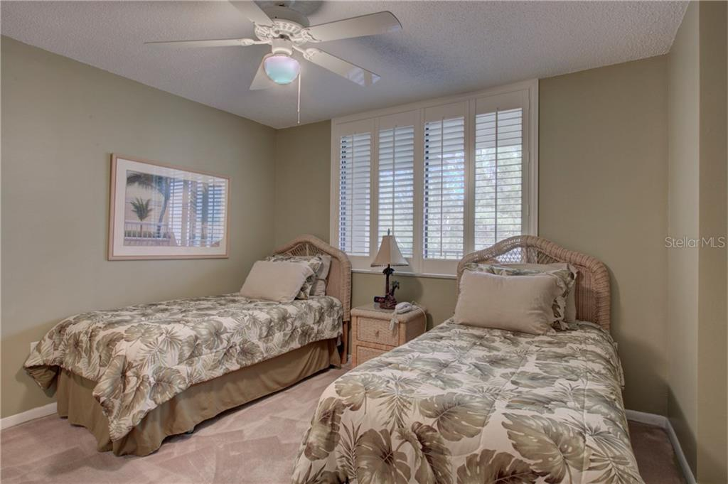 2nd bedroom - Condo for sale at 5880 Midnight Pass Rd #610, Sarasota, FL 34242 - MLS Number is A4204670