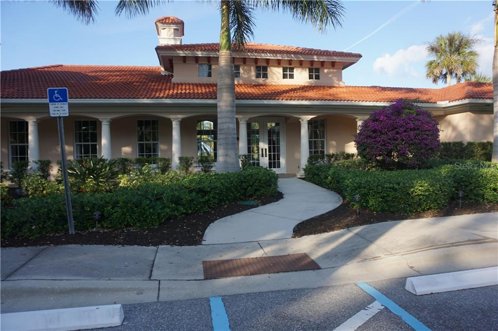 Community clubhouse - Single Family Home for sale at 508 Marsh Creek Rd, Venice, FL 34292 - MLS Number is A4204933