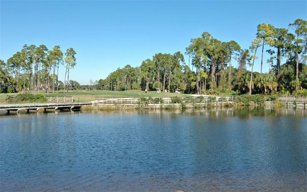 View of one of the Golf Course running around SawGrass - Single Family Home for sale at 460 Otter Creek Dr, Venice, FL 34292 - MLS Number is A4205372