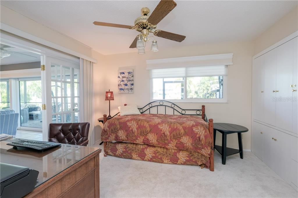 Fourth bedroom, flexible as an an office with good storage. - Single Family Home for sale at 5633 Cape Leyte Dr, Sarasota, FL 34242 - MLS Number is A4207008