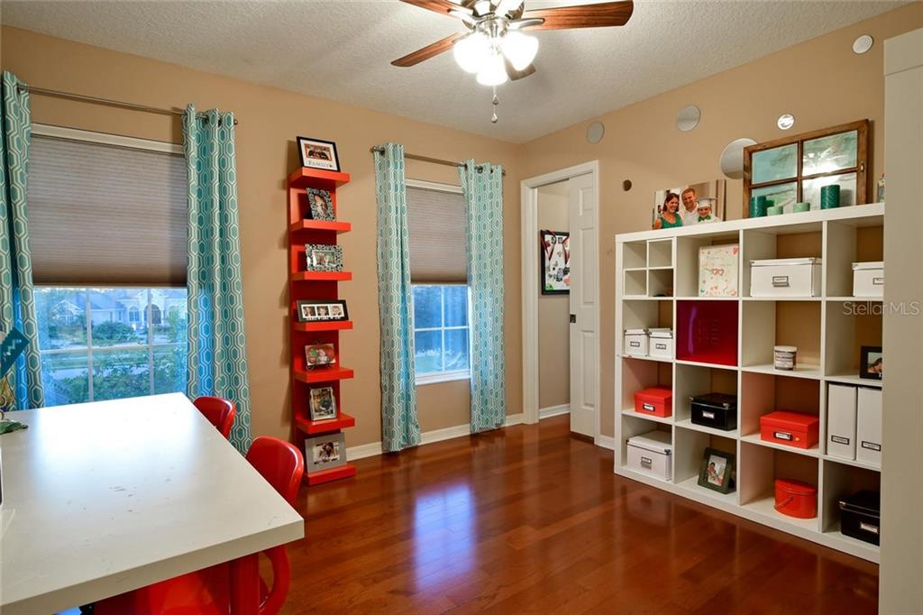 bedroom 2 with large walk in closet! - Single Family Home for sale at 22611 Morning Glory Cir, Bradenton, FL 34202 - MLS Number is A4207071