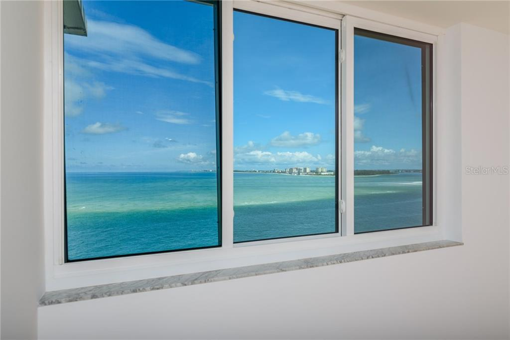 Gulf of Mexico and Lido Key views from 2nd Master bedroom - Condo for sale at 4822 Ocean Blvd #11d, Sarasota, FL 34242 - MLS Number is A4209955