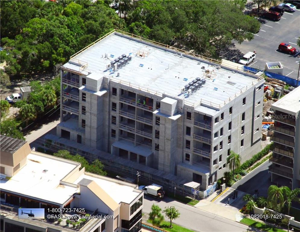 Construction progresses towards a first quarter 2019 move-in. - Condo for sale at 711 S Palm Ave #502, Sarasota, FL 34236 - MLS Number is A4210163