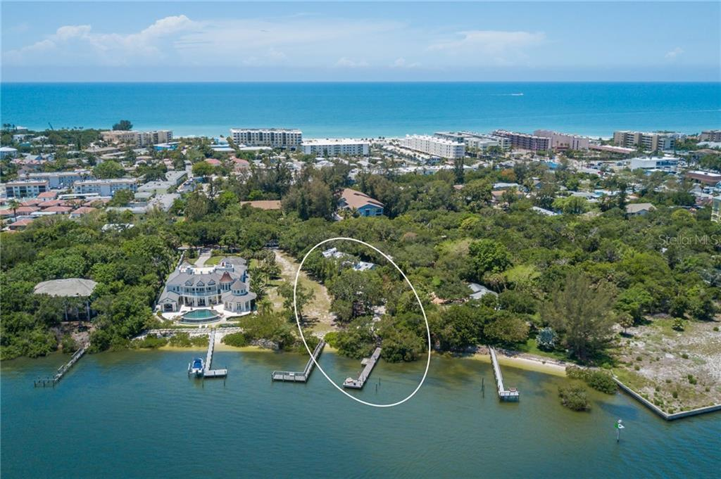 Intracoastal View - Single Family Home for sale at 6609 Peacock Rd, Sarasota, FL 34242 - MLS Number is A4210220