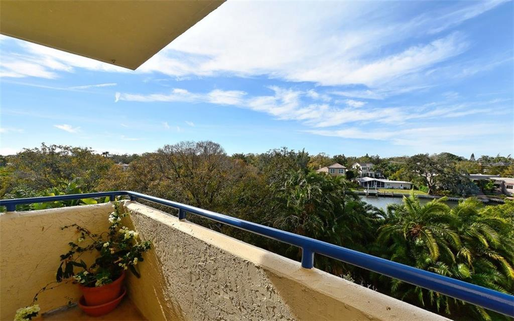 Open balcony - Condo for sale at 835 S Osprey Ave #314, Sarasota, FL 34236 - MLS Number is A4210271
