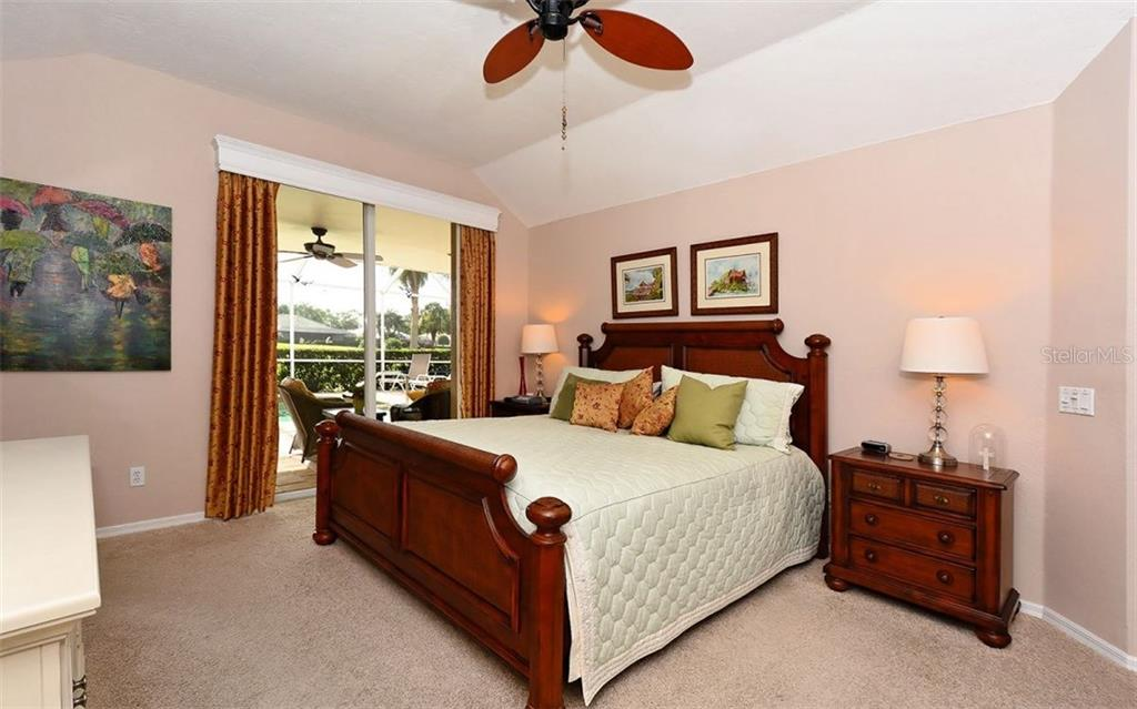 Master bedroom - Single Family Home for sale at 571 Khyber Ln, Venice, FL 34293 - MLS Number is A4210343