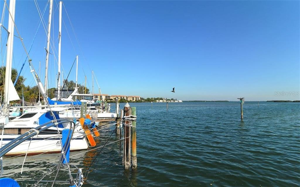 On-site, attached community marina - Condo for sale at 3440 Gulf Of Mexico Dr #8, Longboat Key, FL 34228 - MLS Number is A4214047
