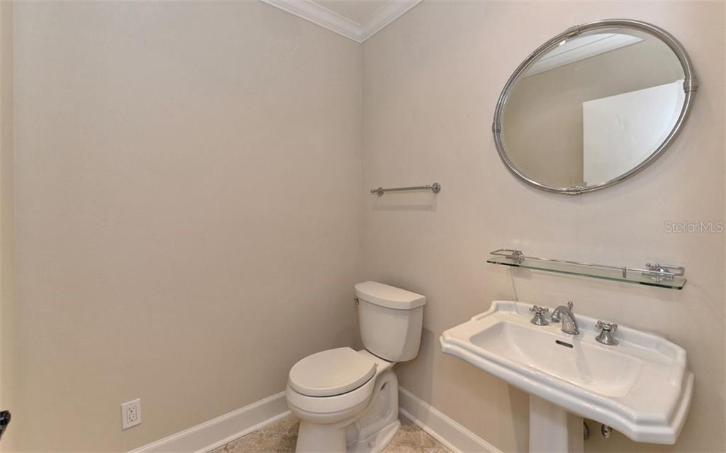 Powder Room - Single Family Home for sale at 1670 Bay View Dr, Sarasota, FL 34239 - MLS Number is A4400079