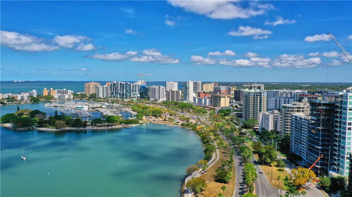 A stunning edition to the downtown Sarasota skyline; located between Palm & Gulfstream Avenues, where the city meets the bay. - Condo for sale at 605 S Gulfstream Ave #4n, Sarasota, FL 34236 - MLS Number is A4400519