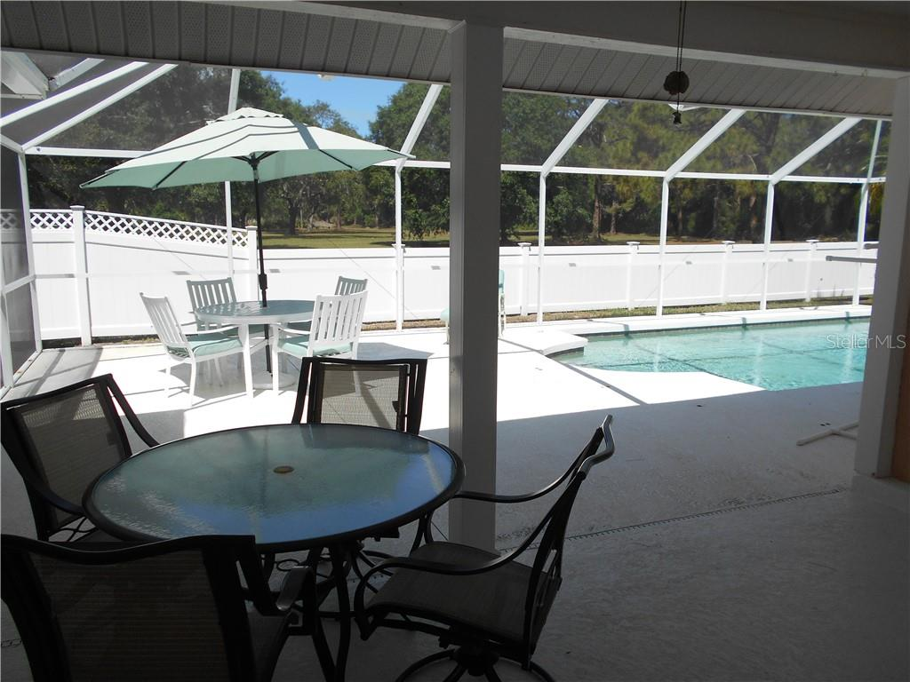 Covered lanai - Single Family Home for sale at 5150 Ashton Pines Ln, Sarasota, FL 34231 - MLS Number is A4400646