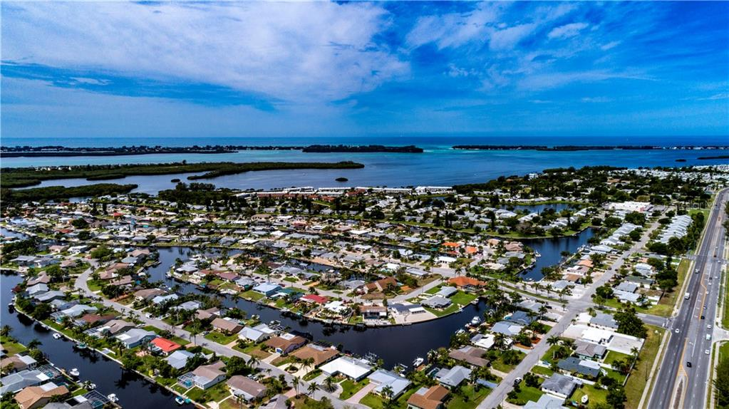 View of Coral Shores and surrounding area. - Single Family Home for sale at 9011 Kingston Rd, Bradenton, FL 34210 - MLS Number is A4402527