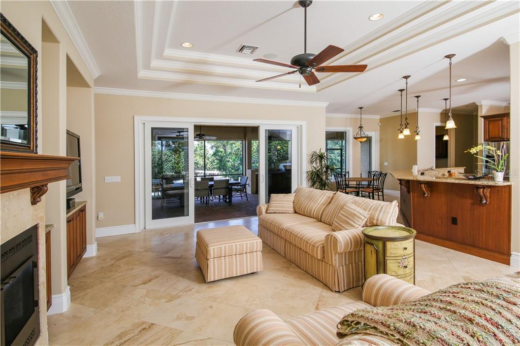 Living Room - Single Family Home for sale at 432 Sorrento Dr, Osprey, FL 34229 - MLS Number is A4402898