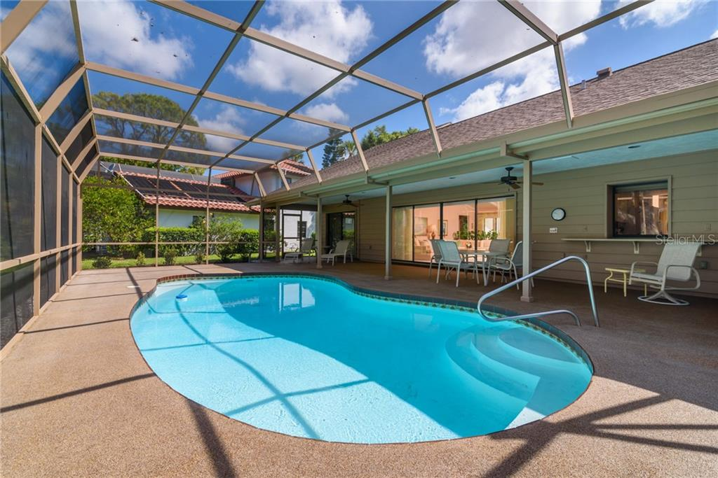 Entertain Poolside - Single Family Home for sale at 4973 Southern Wood Dr, Sarasota, FL 34241 - MLS Number is A4402930