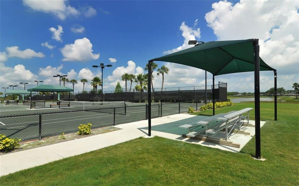 9 lighted Har-Tru tennis courts. - Single Family Home for sale at 506 River Crane St, Bradenton, FL 34212 - MLS Number is A4403278