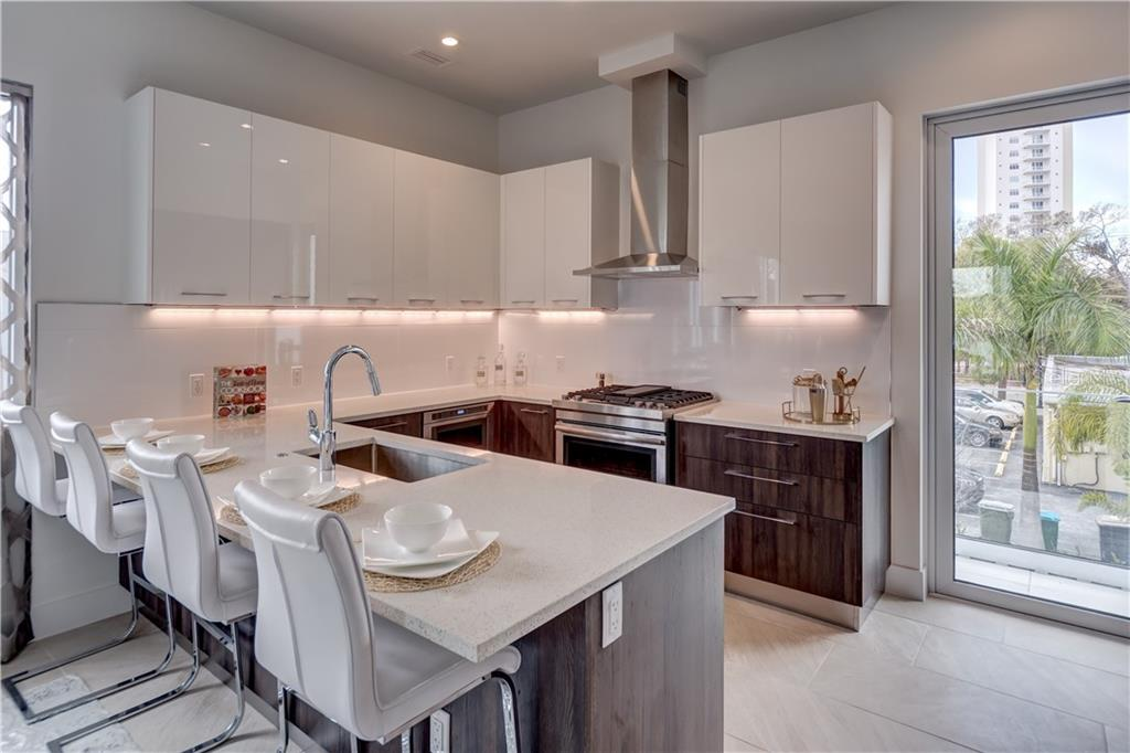 Imported Italian Cabinets Throughout - Townhouse for sale at 632 S Rawls Ave, Sarasota, FL 34236 - MLS Number is A4404361