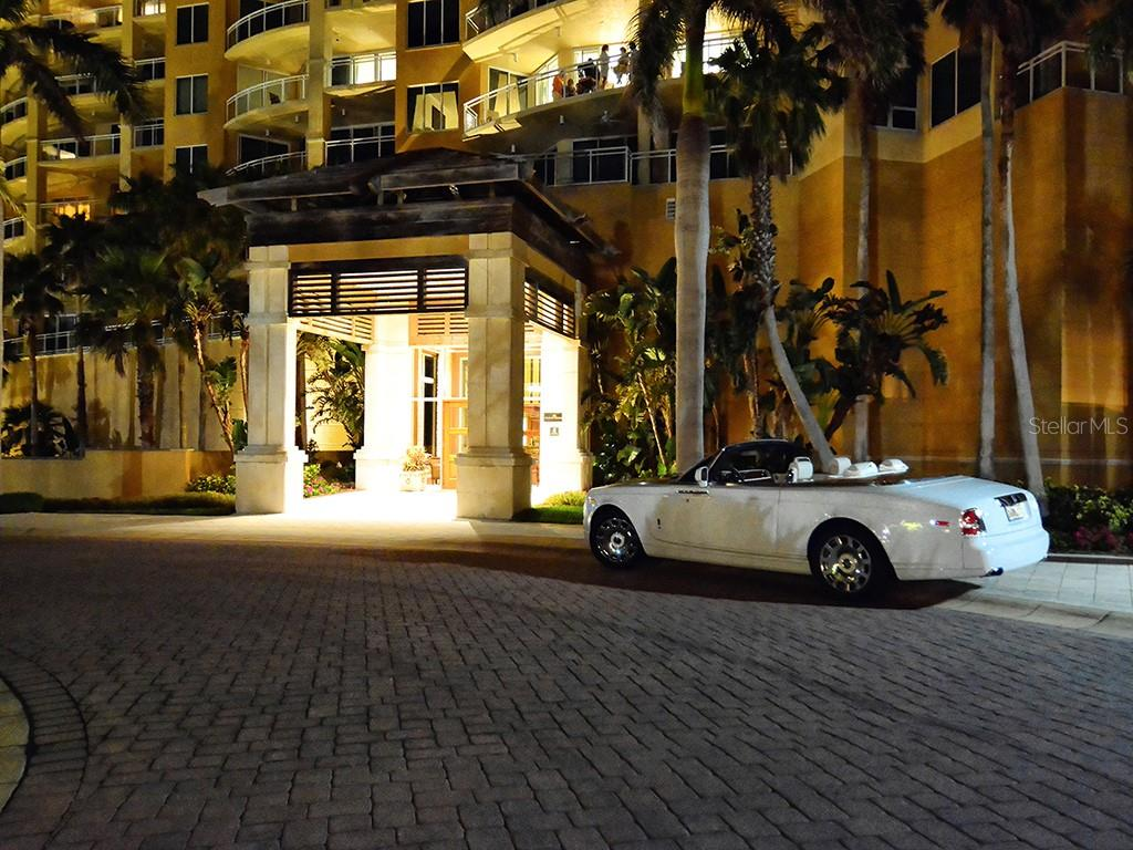 The Beach Residences - Front Entry - Condo for sale at 1300 Benjamin Franklin Dr #1008, Sarasota, FL 34236 - MLS Number is A4405360
