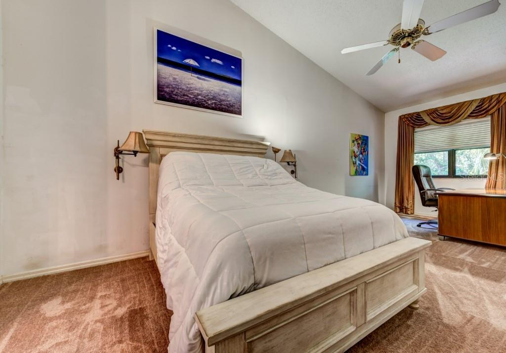 Enormous master bedroom with extra space for a desk, library or studio. Brand new carpeting has just been installed. - Condo for sale at 1660 Starling Dr #202, Sarasota, FL 34231 - MLS Number is A4405877