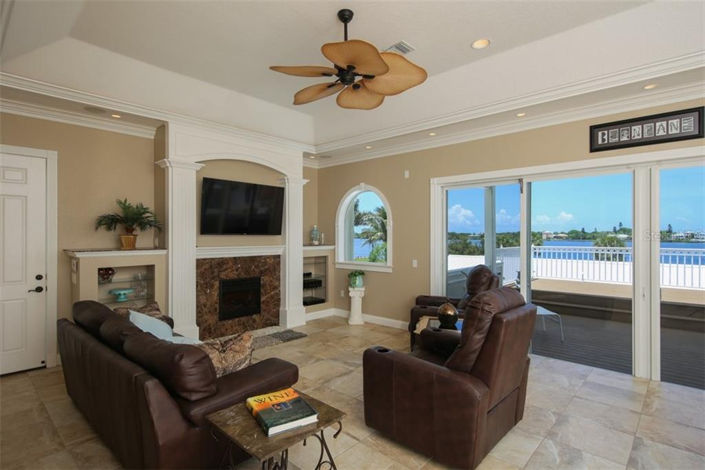 2nd Family Room built for entertaining - Single Family Home for sale at 1778 Bayshore Dr, Englewood, FL 34223 - MLS Number is A4405962