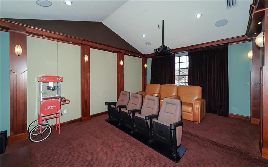 Theatre Room - Single Family Home for sale at 540 Fore Dr, Bradenton, FL 34208 - MLS Number is A4406084