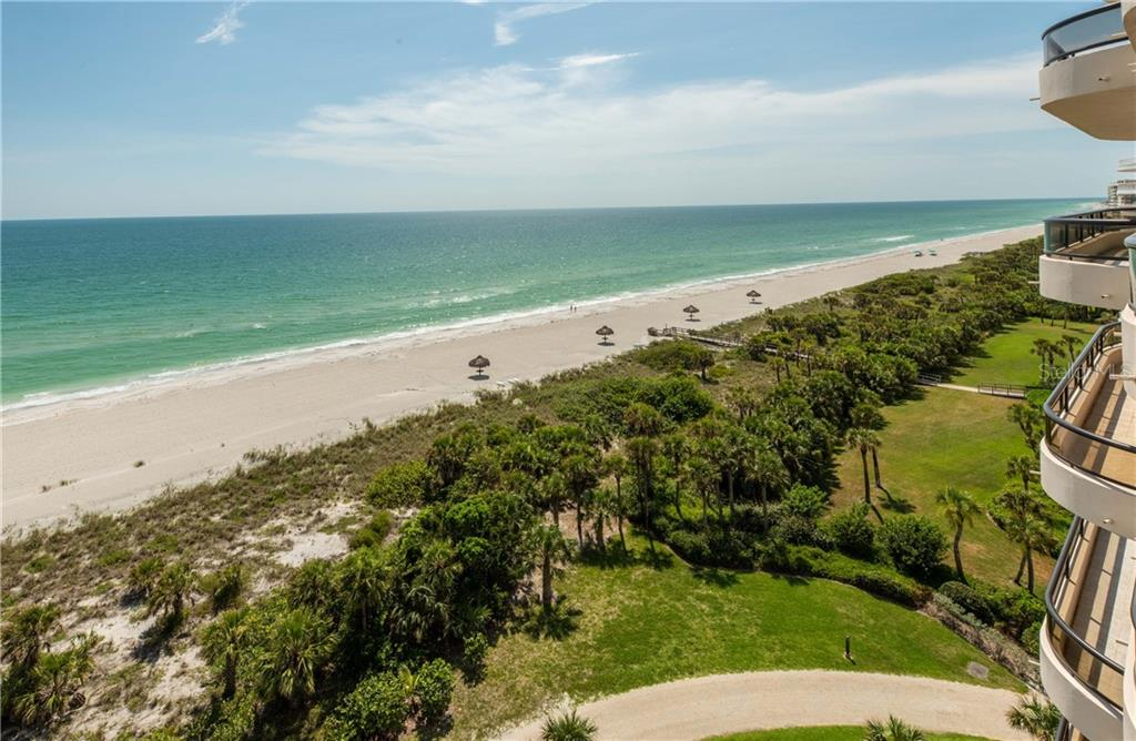 View from the gulfside terrace - Condo for sale at 435 L Ambiance Dr #k806, Longboat Key, FL 34228 - MLS Number is A4406683