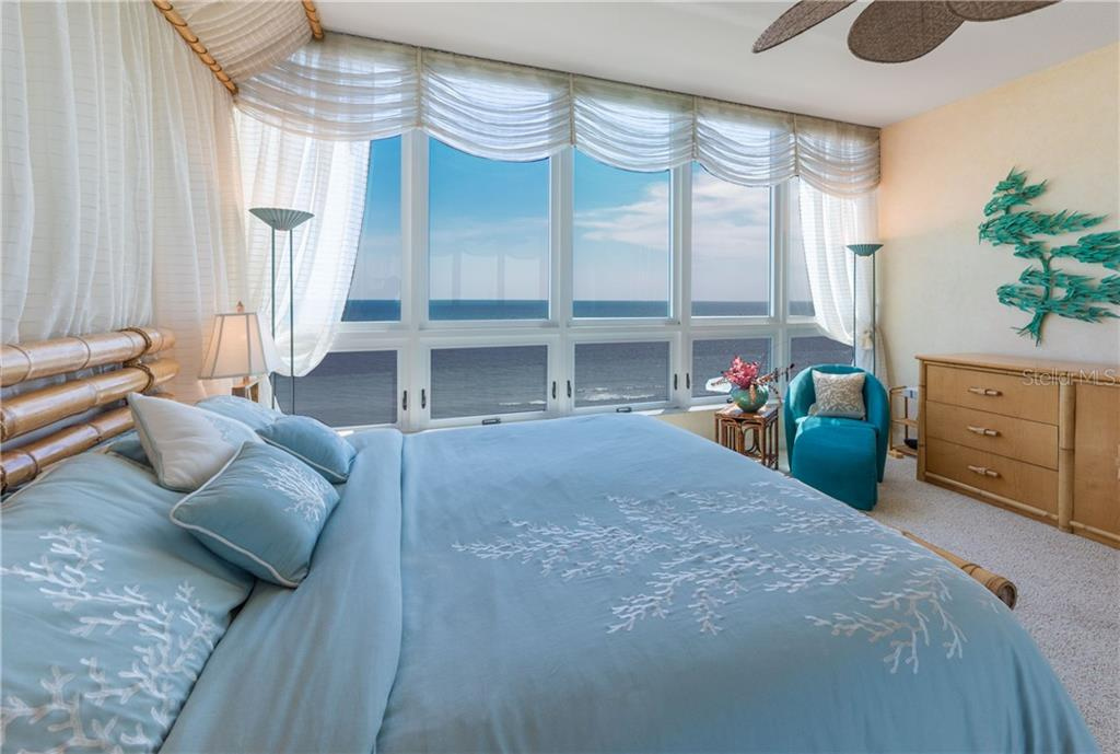 You will never want to get out of bed! - Condo for sale at 435 L Ambiance Dr #k806, Longboat Key, FL 34228 - MLS Number is A4406683
